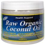 Health Support Baking and Cooking – Raw Organic Coconut Oil – 15.3 oz