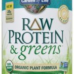 Garden of Life Protein – Raw Protein and Greens Lightly Sweet – 23 oz