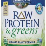 Garden of Life Protein – Raw Protein and Greens Vanilla – 19.3 oz (548