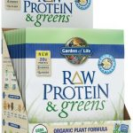 Garden of Life Protein – Raw Protein and Greens Vanilla Tray – 10