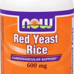 NOW Greens & Superfood Supplements – Red Yeast Rice 600 mg – 120