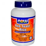 NOW Cardiovascular Support – Red Yeast Rice 600 mg with CoQ10 30 mg –