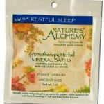 Nature's Alchemy Bath and Body – Restful Sleep Aromatherapy Mineral