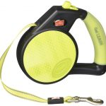 Wigzi Dogs – Retractable Reflective Gel Leash, Small (Up to 26 Lbs