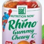 Nutrition Now Children's Formulas – Rhino Chewy C with Zinc &
