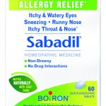 Boiron Allergy Relief – Sabadil (Allergy Relief) – 60 Tablets
