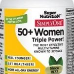 Super Nutrition Women's Health – Simply One 50+ Women – 30 Tablets
