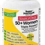 Super Nutrition Women's Health – Simply One 50+ Women, Iron-Free –
