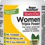 Super Nutrition Women's Health – Simply One Women – 90 Tablets