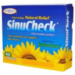 Enzymatic Therapy Respiratory Support – SinuCheck – 40 Softgels