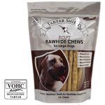 Tartar Shield Dogs – Soft Rawhide Chews for Large Dogs – 24 Chews