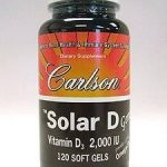 Carlson Labs Immune Support – Solar D Gems 2000 IU Vitamin D3 plus