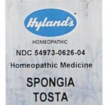 Hyland's Homeopathic Remedies – Spongia Tosta 6X – 250 Tablets