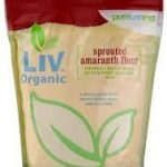 Pure Living Baking and Cooking – Sprouted Amaranth Flour – 24 oz (680