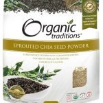 Organic Traditions Greens & Superfood Supplements – Sprouted Chia – 16