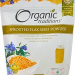 Organic Traditions Greens & Superfood Supplements – Sprouted Flax Seed