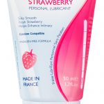 Sasmar Men's Health – Strawberry Flavored Personal Lubricant Tube –