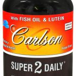 Carlson Labs Multivitamins – Super 2 Daily – 60 Soft Gels