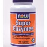 NOW Gastrointestinal/Digestive – Super Enzymes – 90 Tablets