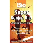Bio Nutrition General Health – Super Konjac Diet – 90 Veggie Capsules