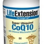 Life Extension Cellular Support – Super Ubiquinol CoQ10 with Enhanced