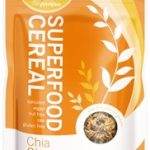 Living Intentions Snacks – Superfood Cereal – Chia Ginger – 9 oz (255