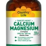 Country Life Joint Support – Target-Mins Calcium-Magnesium 1000 mg/500