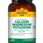 Country Life Cardiovascular Support – Target-Mins Calcium Magnesium