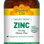 Country Life Immune Support – Target-Mins Zinc 50 mg – 180 Tablets