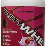 tastywhey-strawberry-creme-flavor-201-lbs-912-grams-by-adaptogen-science