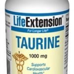 Life Extension Cardiovascular Support – Taurine 1000 mg – 90