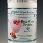 Nutritional Frontiers Protein – Best Whey Protein (Berry Flavor) – 30