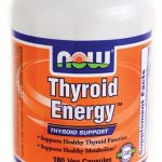 NOW Hormone/Glandular Support – Thyroid Energy – 180 Veg Capsules