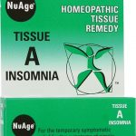 Hyland's Homeopathic Remedies – Tissue A Insomnia – 125 Tablets