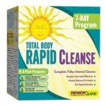 ReNew Life Detoxification – Total Body Rapid Cleanse – 7-Day (3-Part
