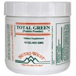 Nutri West General Health – Total Green (Protein Powder) – 16 oz (453