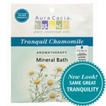 Aura Cacia Bath and Body – Tranquil Chamomile Aromatherapy Mineral
