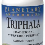 Planetary Herbals Detoxification – Triphala 1000 mg – 180 Tablets