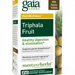 Gaia Herbs Detoxification – Triphala Fruit – 60 Vegetarian Liquid