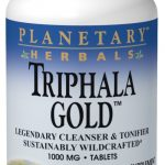 Planetary Herbals Detoxification – Triphala Gold 1000 mg – 120 Tablets