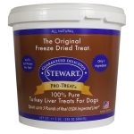 Stewart Dogs – Turkey Liver Freeze Dried Tub for Dogs – 11.5 oz