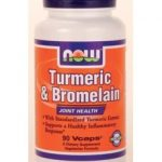 NOW Joint Support – Turmeric & Bromelain – 90 Vegetarian Capsules