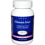 Enzymatic Therapy Minerals – Ultimate Iron – 90 Softgels