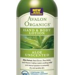 Avalon Organics Bath and Body – Unscented Organic Aloe Hand & Body