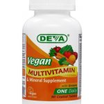DEVA Nutrition Multivitamins – Vegan Multivitamin & Mineral Supplement