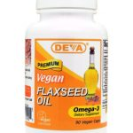 DEVA Nutrition Essential Fatty Acids – Vegan Flax Seed Oil – 90 Vegan