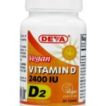 DEVA Nutrition Immune Support – Vegan Vitamin D2 2400 IU – 90 Tablets