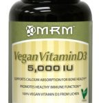 MRM Joint Support – Vegan Vitamin D3 5000 IU – 60 Vegan Capsules