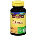 Nature Made Immune Support – Vitamin D3 400 IU – 100 Tablets