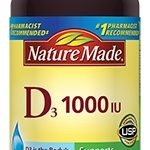 Nature Made Immune Support – Vitamin D3 1000 IU – 100 Softgels